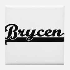 Brycen Classic Retro Name Design Tile Coaster