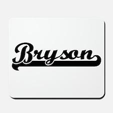 Bryson Classic Retro Name Design Mousepad