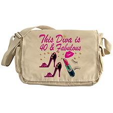 GORGEOUS 40TH Messenger Bag