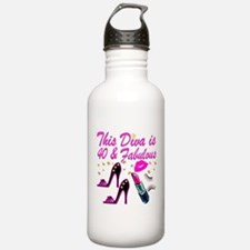 GORGEOUS 40TH Water Bottle