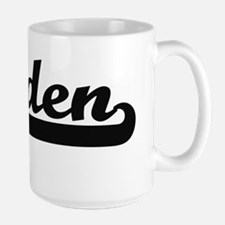 Caiden Classic Retro Name Design Mugs