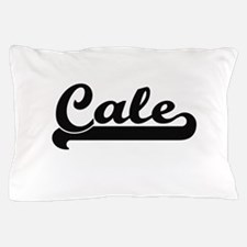 Cale Classic Retro Name Design Pillow Case