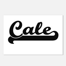 Cale Classic Retro Name D Postcards (Package of 8)