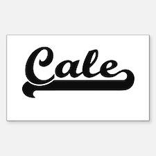 Cale Classic Retro Name Design Decal