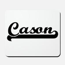 Cason Classic Retro Name Design Mousepad