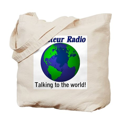 Talking To The World Tote Bag