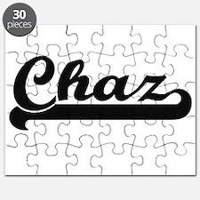 Chaz Classic Retro Name Design Puzzle