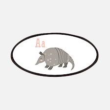 Alphabet Armadillo Patch