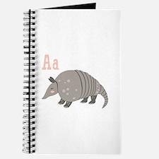 Alphabet Armadillo Journal