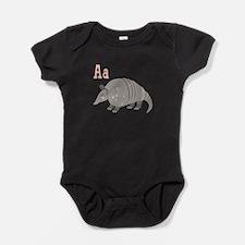 Alphabet Armadillo Baby Bodysuit