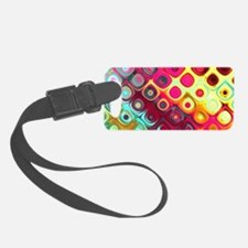 Megafunky Rainbow patterns Luggage Tag
