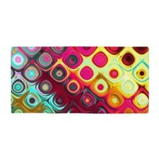 Megafunky Rainbow patterns Beach Towel
