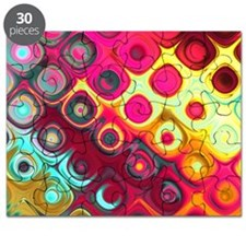 Megafunky Rainbow patterns Puzzle