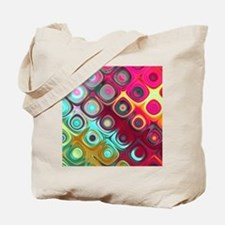 Megafunky Rainbow patterns Tote Bag