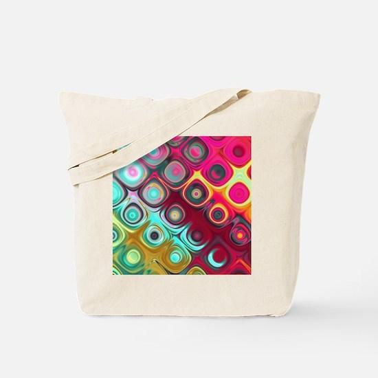 Megafunky Rainbow patterns Tote Bag