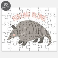 Rolling Along Armadillo Puzzle