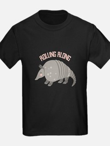 Rolling Along Armadillo T-Shirt