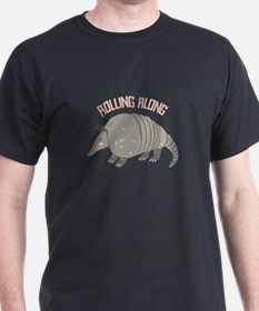 Rolling Along Armadillo T-Shirt