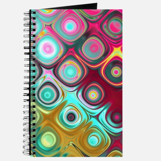 Megafunky Rainbow patterns Journal