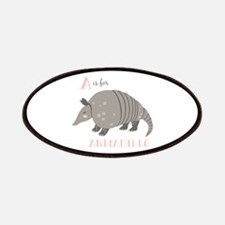A is for Armadillo Patch