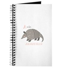 A is for Armadillo Journal