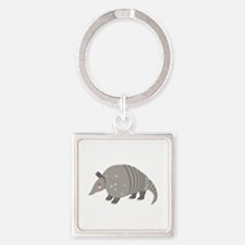 Armadillo Animal Keychains