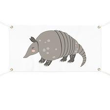 Armadillo Animal Banner