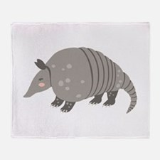 Armadillo Animal Throw Blanket