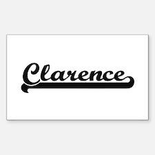 Clarence Classic Retro Name Design Decal