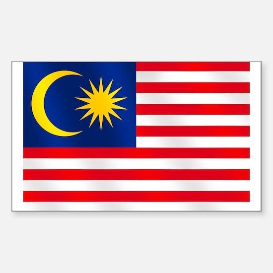 Flag of Malaysia Sticker (Rectangle)