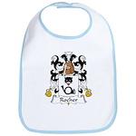 Rocher Family Crest Bib