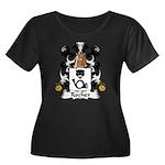 Rocher Family Crest Women's Plus Size Scoop Neck D