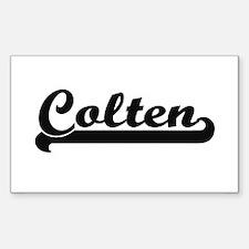 Colten Classic Retro Name Design Decal