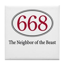 668 - Tile Coaster