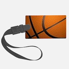 Basketball Big Wide Luggage Tag