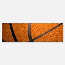 Basketball Big Wide Bumper Bumper Bumper Sticker