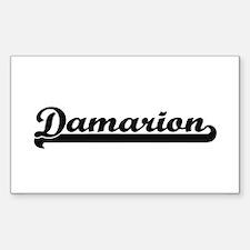 Damarion Classic Retro Name Design Decal