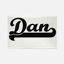 Dan Classic Retro Name Design Magnets