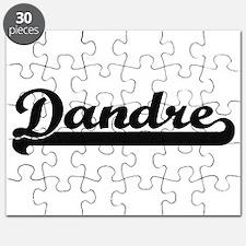 Dandre Classic Retro Name Design Puzzle