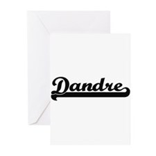 Dandre Classic Retro Name Design Greeting Cards