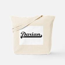 Darian Classic Retro Name Design Tote Bag