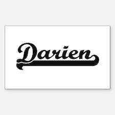 Darien Classic Retro Name Design Decal