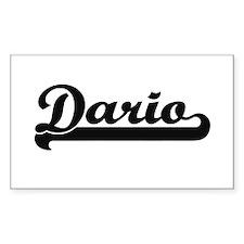 Dario Classic Retro Name Design Decal