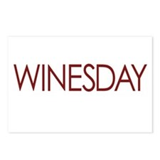 WINESDAY Postcards (Package of 8)