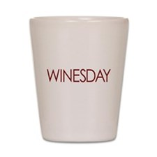 WINESDAY Shot Glass