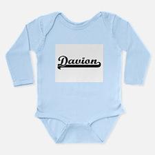 Davion Classic Retro Name Design Body Suit