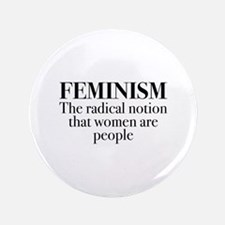 "Feminism 3.5"" Button (100 pack)"