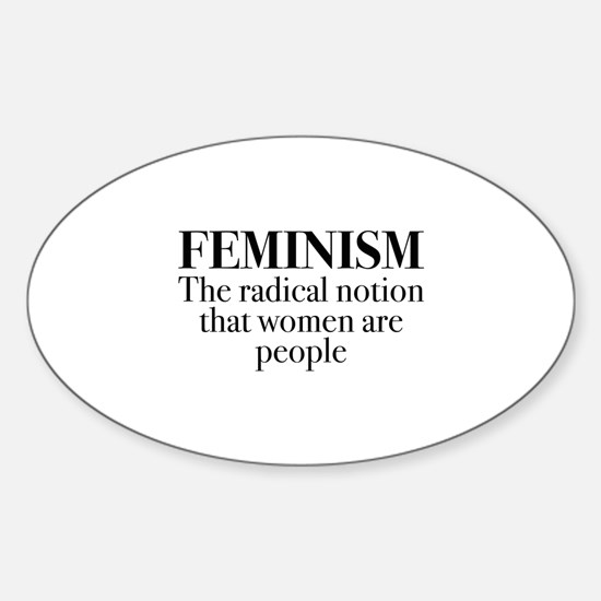 Feminism Sticker (Oval)