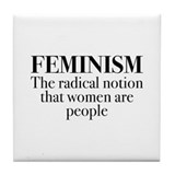 Feminism the radical Drink Coasters
