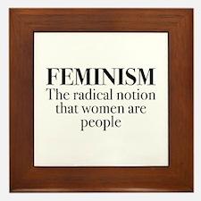 Feminism Framed Tile